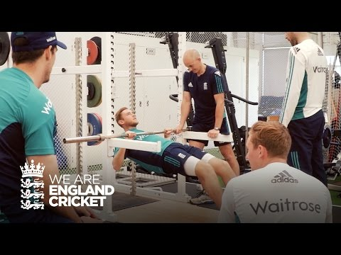 England Cricket fitness testing day