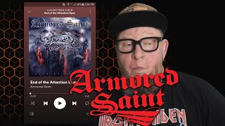 ARMORED SAINT - End of the Attention Span  (First Listen)