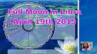 April Full Moon in Libra on the 19th