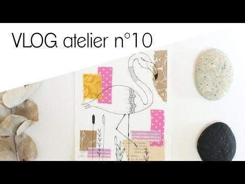 VLOGatelier N°10 - Flamants Roses, Lapinoux Doux Et évènements De Fin D'année.