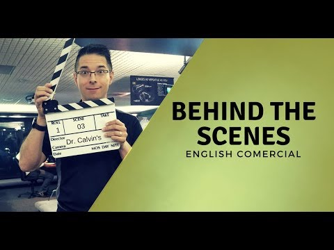Behind the Scenes English Commercial