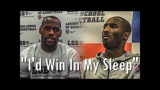 NBA Stories EP09 - NBA Players On Who'd Win LeBron or Kobe in a 1-on-1