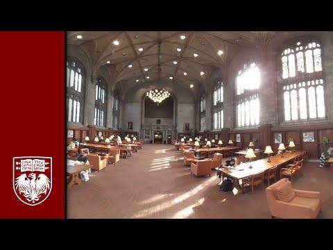 Harper Memorial Library in 360°