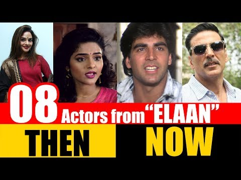 "8 Bollywood Actors from ""ELAAN"" 1994 