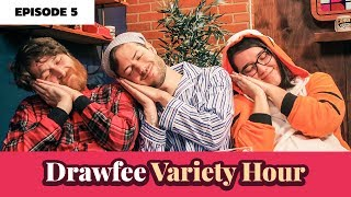 Slumber Party Drawing Challenge - The Drawfee Variety Hour