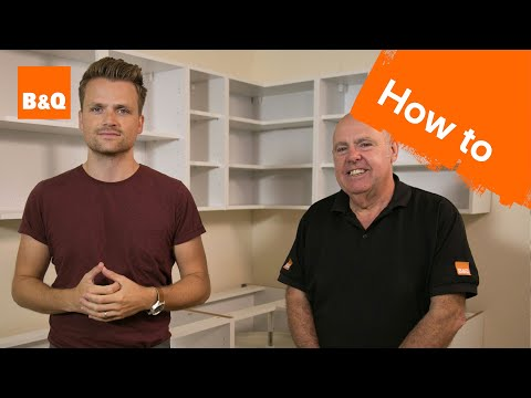 How to fit kitchen units part 1: assembling & fitting units
