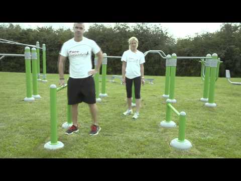 Outdoor Gym Equipment - FLZ Hurdles