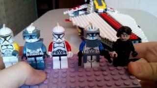 Лего самоделка звёздные войны крейсер винатор