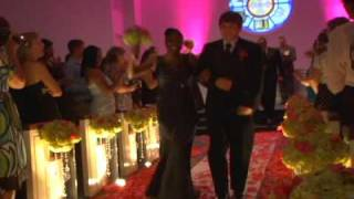 Most unique song EVER to walk out of wedding ceremony