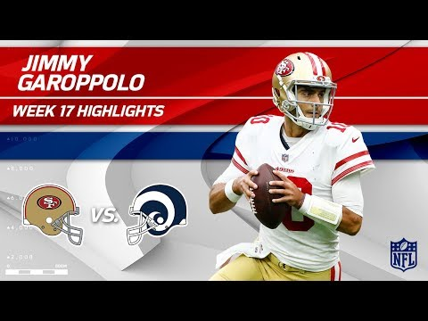 Jimmy Garoppolo Highlights | 49ers vs. Rams | Wk 17 Player Highlights