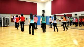 Dancing In The Summerwind - Line Dance (Dance & Teach in English & 中文)