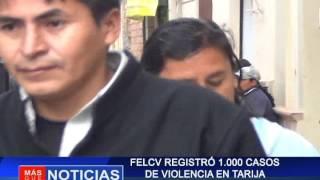 FELCV  registro 1000 casos de violencia en Tarija