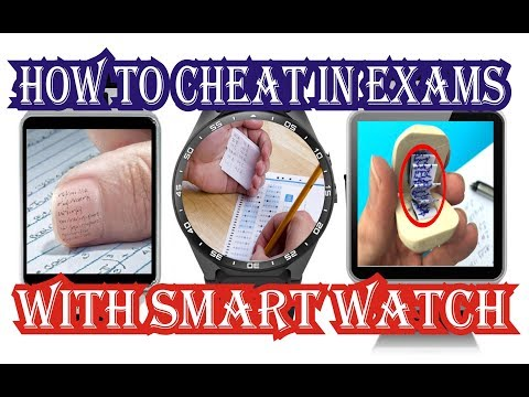 How to cheat in exam with DZ09 Smartwatch!