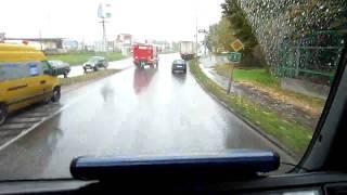 2010.10.22. Vonulás gázömléshez Kistelekre.
