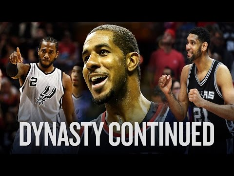 Don't overthink it. The Spurs will be amazing