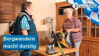 BAYERN-COMEDY: Wenn Rudi und Petra die Wanderlust packt. Ab in die bayerischen Alpen.