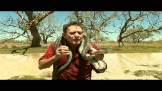 Outback Pythons Wildlife Man