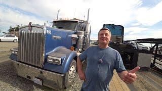 Купил новый грузовик Kenworth W900L