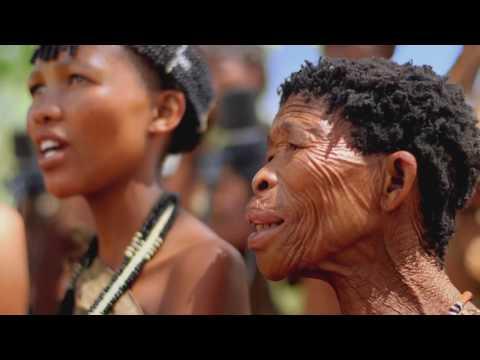 KHOISAN Song by Charlie Simpson & San Bushmen  Walking With The San