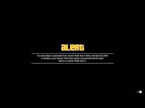 #BANNED in GTA Online for nothing