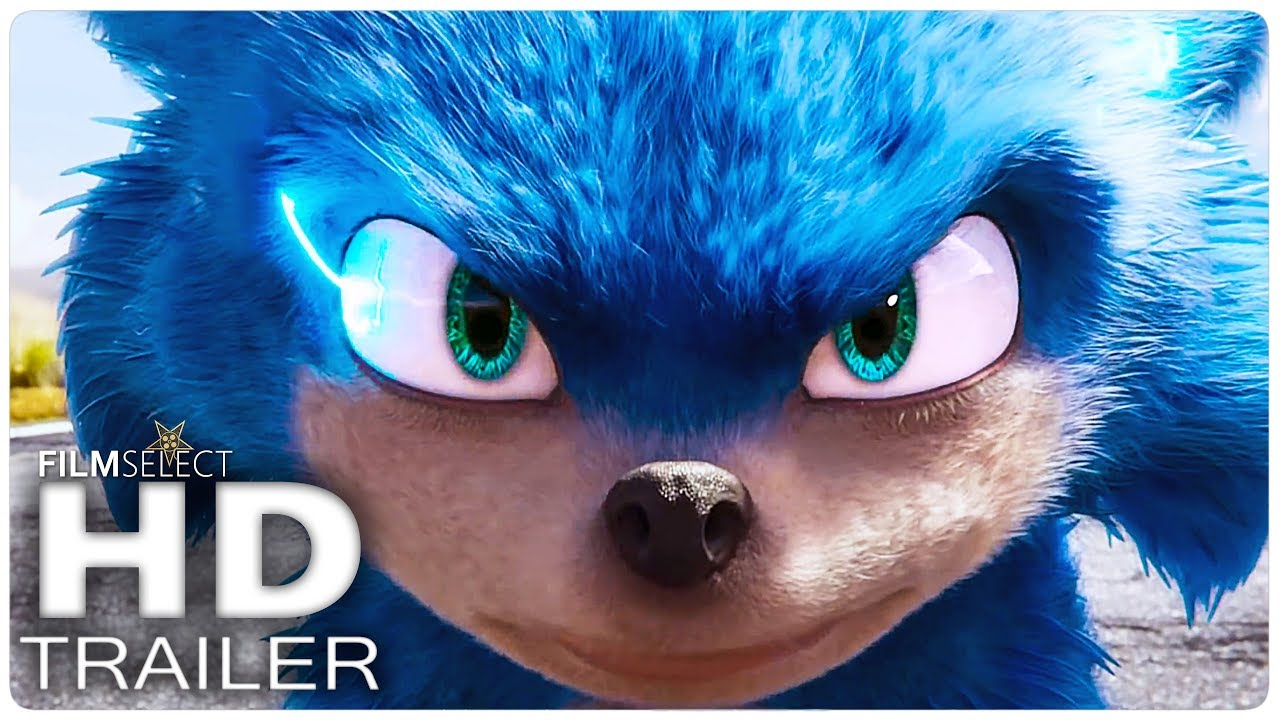 Sonic The Hedgehog Trailer 2020 Youtube