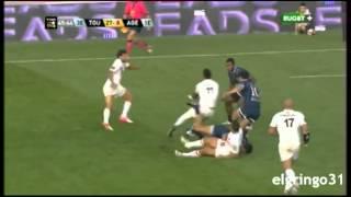 Les 8 essais du stade toulousain contre Agen...