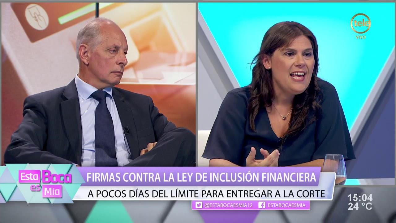 Firmas contra la Ley de Inclusión Financiera /2