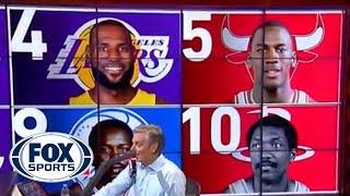 Hoops on FOX Podcast: Michael Jordan salty about LeBron passing milestone? | FOX SPORTS