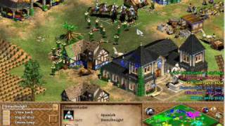 Age Of Empires 2 The Conquerors: 3v3 Good Players Black Forest Online Epic Battle 2