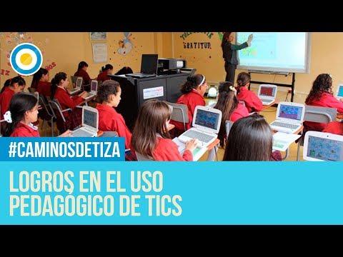 Logros en el uso pedagógico de TICS