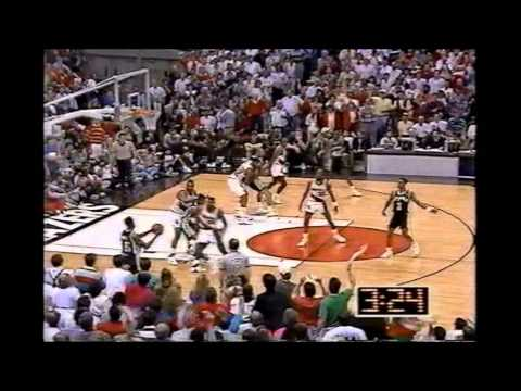 1990 Playoffs San Antonio@Portland Game 7 HIGHLIGHTS