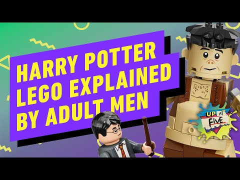 LEGO Harry Potter Explained By a Guy Who Hasn't Seen Harry Potter - Up at Noon