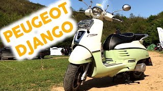 Peugeot Django 125 İnceleme