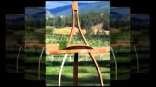 Oak Wine Barrel Furniture