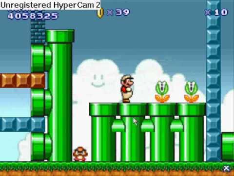 Super Mario Flash Level Editor