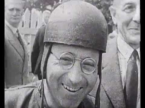 Vintage Road Racing - 1949 Isle of Man TT Races (*Silent Movie)