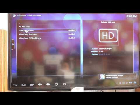 Đẳng Cấp Digital Hướng Dẫn Cài Đặt HDPLAY trên XBMC Xem TIVI HD miễn phí MINIX NEO X9, MINIX NEO Z64