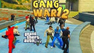 GTA 5 THUG LIFE #12 - GANG WAR BLOOD VS CRIPS | S2