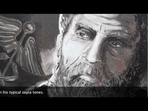 ART: Hippocrates' portrait by artist Peter Engels