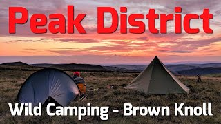 Peak District - Wild Camping - Brown Knoll