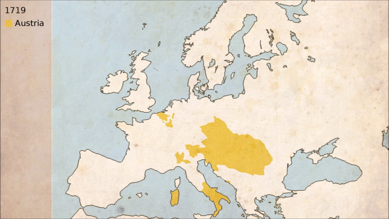 Austria - Timelapse Map (976-2017)