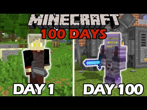 I Survived 100 Days in the Industrial Revolution in Minecraft