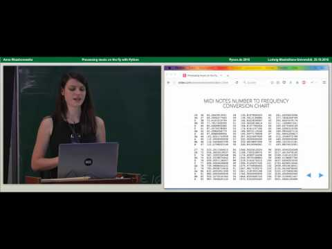 Anna Wszeborowska - Processing music on the fly with Python