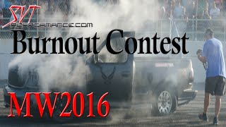 2016 Mustang Week Full Burnout Contest - HD