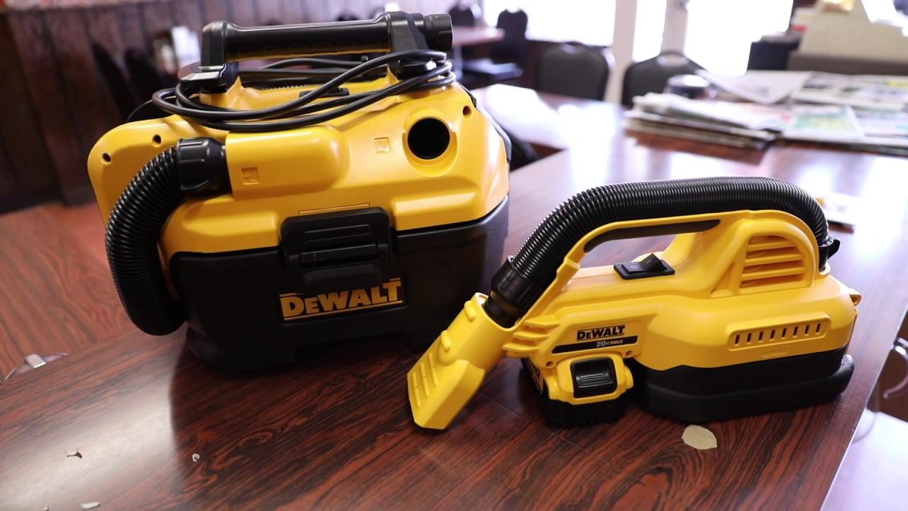 Dewalt Makes Nice Cordless Vacuums Dewalt Cordless 18v 20v Cordless Vac Review Demo Youtube