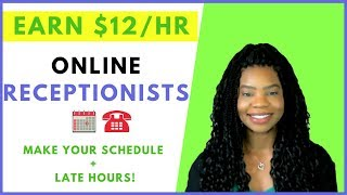 *NOW HIRING* Online Receptionists & Appointment Setters | Online, Remote Work-At-Home Jobs May 2019
