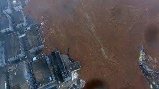 China: Pelo menos 20 desaparecidos em deslizamento de terras