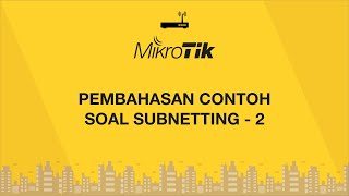 3. Pembahasan Contoh Soal Subnetting - 2