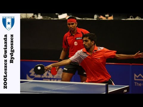 Paul Drinkhall/Liam Pitchford vs. Sharath Kamal Achanta/Sath