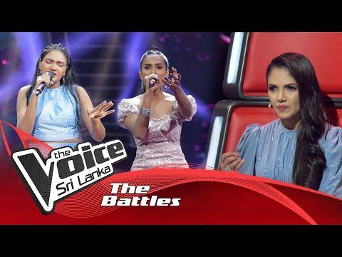 The Battles : Imesha Thathsarani V Sandali Chathumi   Gagana Sarannata Kiya   The Voice Sri Lanka